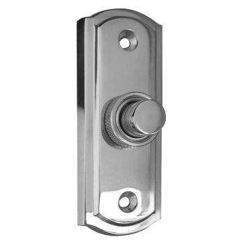 Sloane Bell Push - Polished Chrome