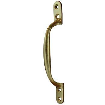 Sash Window Handle - Polished Brass