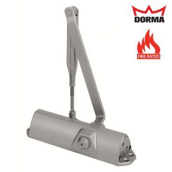 Dorma TS68 Standard Overhead Door Closer Size 2-4 - Silver