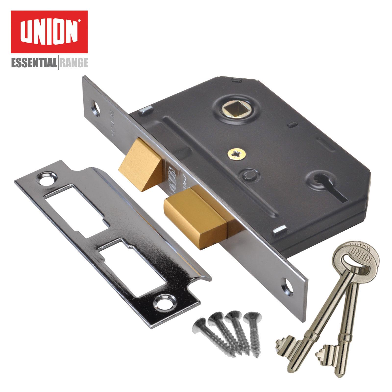 Union 3 Lever Sashlock - Essential Range