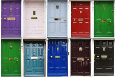 What Does Your Front Door Colour Say About You?