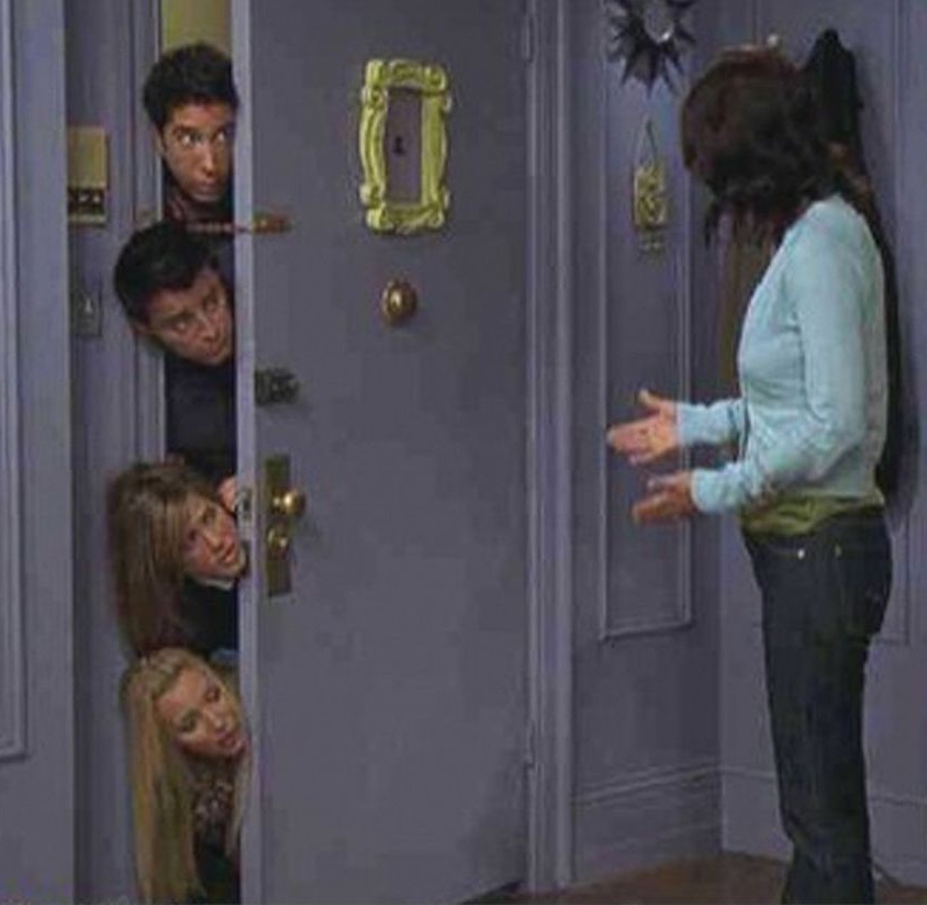 The door from Friends