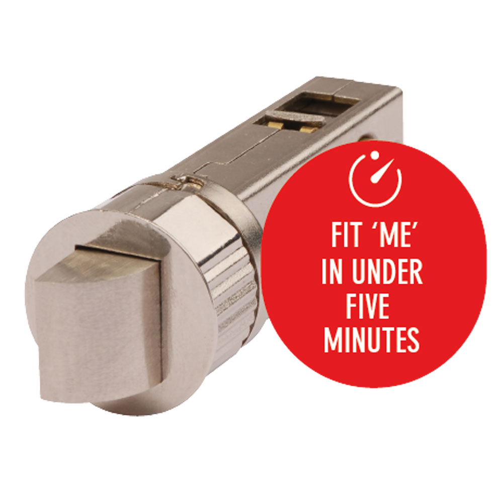 Smart Latch Fit Me In Under Five Minutes